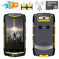 32G SD 2G/3G/4G FDD-LTE Discovery V1M Rugged Android Phone Waterproof Smartphone