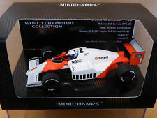Minichamps 1:43 Alain Prost McLaren MP4/2C 1986 World Champions Collection BNIB