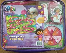 Dora The Explorer Scavenger Hunt Game Rug ages 3+ (For 2-4 Players) indoor fun