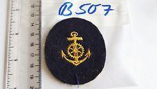 Marine Abzeichen gelb auf blau Reichswehr ? 1 Stück (B507-)