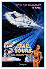 "DISNEY POSTER - STAR TOURS DISNEYLAND 8.5"" x 11"""