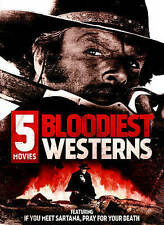 Bloodiest Westerns: 5 Movies (DVD, 2015) New Free Shipping
