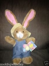 APPLAUSE CHAUNCEY GARDENER GARDEN GATE COLLECTION EASTER PLUSH DOLL FIGURE