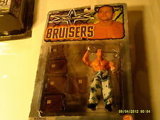 WCW Bruisers Rey Mysterio Action Figure , No Mask RARE