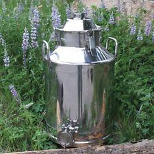 """8 gallon stainless steel sanitary moonshine e85 water boiler no still column 2"""""""
