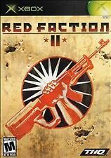 Red Faction 2 II (Xbox) In Box + Cover Art - No Manual - Disc is Good SHIPS FREE