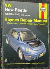Haynes Repair Manual 1998 - 2000 Volkswagen New Beetle