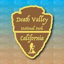 "Death Valley National Park California Arrowhead 5"" Custom Vinyl Decal Sticker"