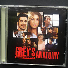 GREY'S ANATOMY US ABC TV Soundtrack OST CD 2006 Patrick Dempsey Katherine Heigl