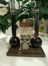 SKULL E CIG HOLDER WILL HOLD EGO AND VISION  E CIG BATTERIES.