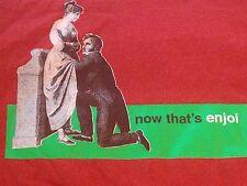 Enjoi Frisky Meme Now That's ENJOI Kinky Skate T Shirt Sz. Medium
