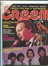 Creem Jan.1980 Fleetwood Mac Led Zeppelin Poster & Calendar  Cheap Trick    MBX6