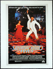 SATURDAY NIGHT FEVER 1977 FILM MOVIE POSTER PAGE . JOHN TRAVOLTA . V50