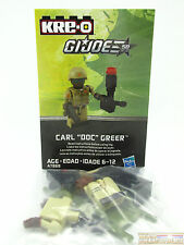 GI Joe Exclusive Kreo Kre-o Blind Bag Kreon Carl Doc Greer 2014 Wave 3