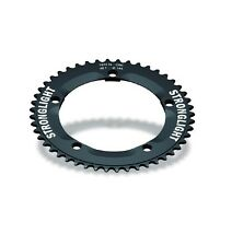 STRONGLIGHT ZICRAL 144BCD TRACK 1 8 inch CHAINRING  BLACK 50T