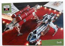 Gerry Anderson'S LOST Worlds-CARD #52 - Starcruiser-inarrestabile carte 2015