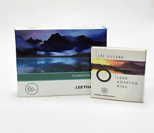 Lee Filters Foundation Holder Kit + 55mm Standard Adapter Ring. Brand New
