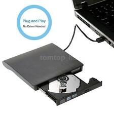 White USB 3.0 Interface DVD-RW External DVD Drive DVD Player Burner Black D5BO