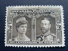 CANADA - 1/2 CENT 1908 - PRINCE & PRINCESS OF WALES - Sc. #96  - USED VF