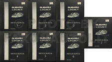 1997 Subaru Legacy and Outback Shop Manual 5 Volume Set Repair Service Book