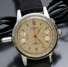 Scarce Hanhart Form Watch Spy-Recording Device w/ Surveillance Equipment CA1950s