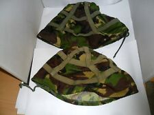 2 British Army WOODLAND DP GS MK6  Helmet Cover