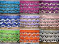 Wholesale 15 High Quality Handmade Belly Dance Hip Scarf Coin Belt..FULL SIZE