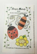 Clearance Brand New Pattern Garden Chatelaine & Pincushion lady bug flower bee