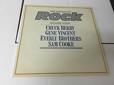 THE HISTORY OF ROCK 'VOLUME 4 - VARIOUS ARTISTS' UK DOUBLE LP EX/EX