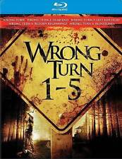 Wrong Turn 1-5 [Blu-ray], New DVDs