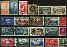 ROMANIA, SELECTION OF 21 OLD DIFFERENT, ALL IN PERFECT CONDITON