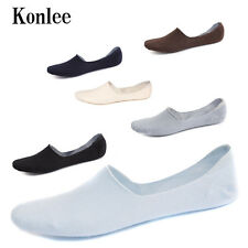 6 Pairs Mens Seamless Non-Slip Invisible Tod's Shoes Socks