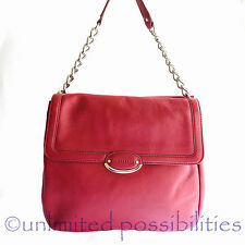OROTON LIRIO New Shoulder Bag Hand Bag Genuine Leather Red New Tags Dustbag