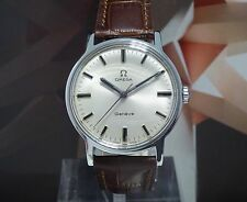 Vintage 1970 Men's Omega Geneve 17 Jewels Manual Wind Wristwatch 1 Year Warranty