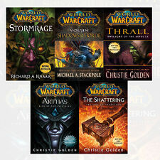 World of Warcraft Series Collection 5 Books Set NEW Arthas,Stormrage,Thrall,Vol'