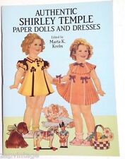 Vintage NEW 1991 Shirley Temple Paper Dolls (Marta K. Krebs) Dover Book