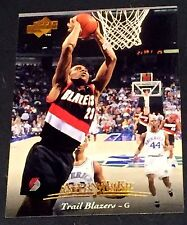 AARON MCKIE 1995-96 Upper Deck ERROR Double Name Logo SCARCE #11 Blazers 1/1?
