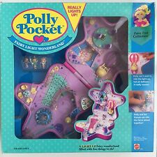 POLLY POCKET LIGHT UP 1993 Fairylight Wonderland *NEW & SEALED - NO SUN DAMAGE*