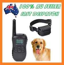 GENUINE 3 IN 1 PET REMOTE TRAINING ANTI BARK VIBRATION DOG STOP BARKING COLLAR