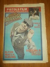 RECORD MIRROR MAY 17 1980 SEX PISTOLS PAULA YATES SPECIALS FLEETWOOD MAC U-2