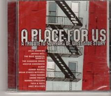 (GA824)  A Place For Us, Tribute To 50 Years Of West Side Story- 2006 Sealed CD