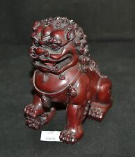 ThriftCHI ~ Carved Resin Asian Foo Dog Lion Figurine
