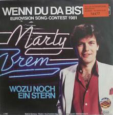 "7"" GRAND PRIX 1981 (AUSTRIA) MARTY BREM Wenn Du da bist"