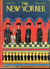 The New Yorker Magazine Charles E. Martin June 2, 1973 Newsstand Issue Excellent