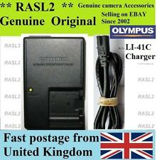 Genuine Olympus Charger li-41c li-42b fe-150 fe-160 fe-190 fe-20 fe-240 fe-320
