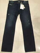 BNWT NEW Genuine Diesel Safado Mens Denim Jeans - 33 x 32 - 0RP13 -Regular Slim