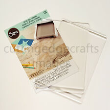 Officiel sizzix ® standard cutting pads (1 paire) for use in big shot £ 7.49 no p&p