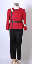 4pcs Star Trek II-VI Wrath of Khan starfleet Uniform costume