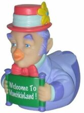 CelebriDucks Wizard Of Oz Munchkin Mayor RUBBER DUCK Bath Toy