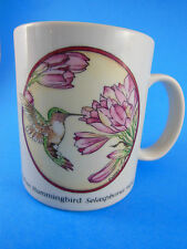 Vintage Japan Rufous Hummingbird Selasphorus Mug The Academy Store J. Lopez 1986